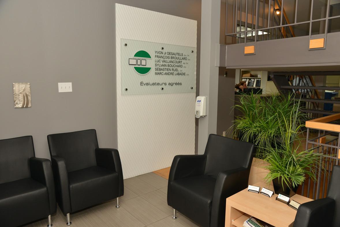 entrée bureau Saint-Hyacinthe